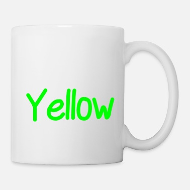Yellow yellow - Coffee/Tea Mug
