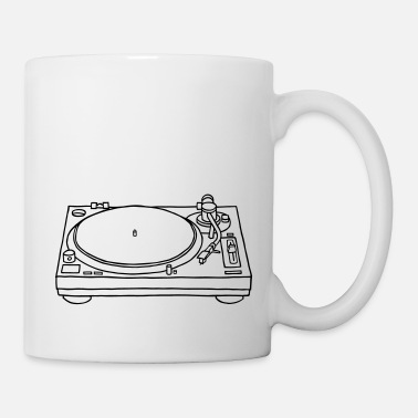 Record record player - Mug