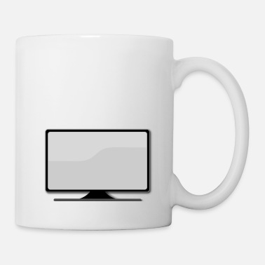 Tv Screen Flat Screen TV - Mug