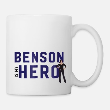 Svu Law Order SVU Benson is My Hero Comfortable birthd - Mug