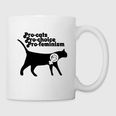 Pro pro cats pro choice - Coffee/Tea Mug
