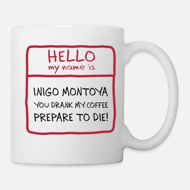 Name Inigo Montoya Coffee - Coffee/Tea Mug