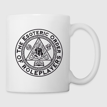 Esoteric Order of Roleplayers Logo Ringer Tee (Men - Coffee/Tea Mug
