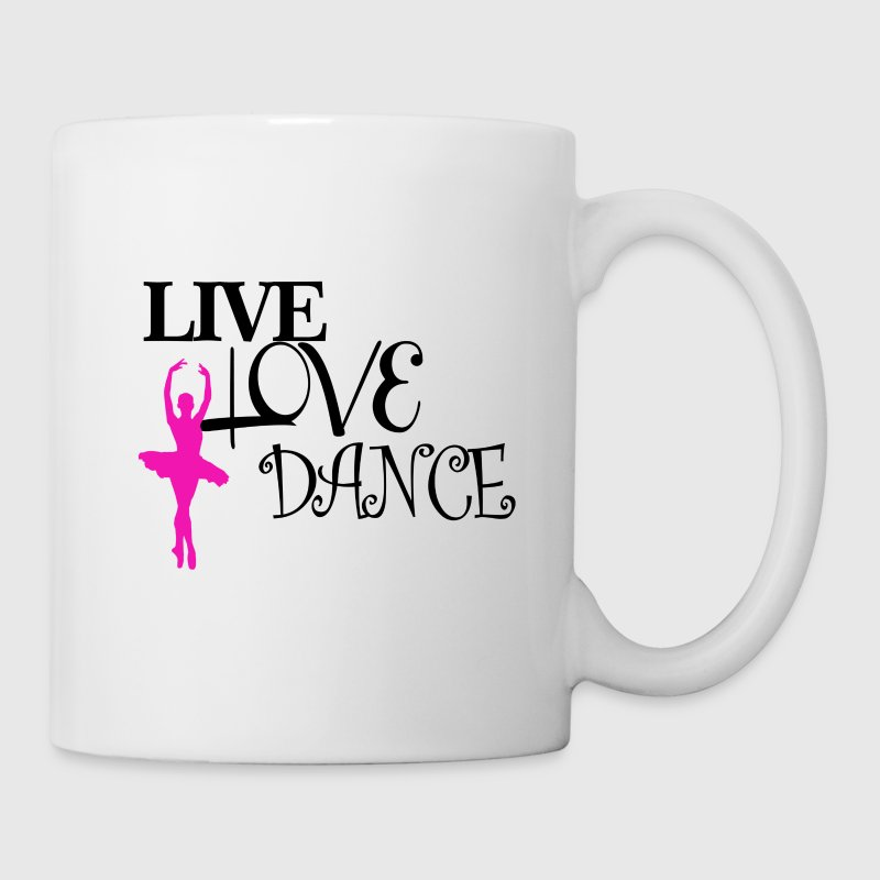 Live Love Dance - Coffee/Tea Mug