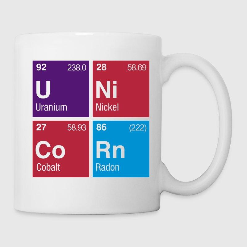 Unicorn Periodic Table Coffee Tea Mug