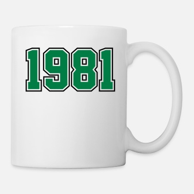 Year Of Birth 1981 | Year of Birth | Birth Year | Birthday - Mug