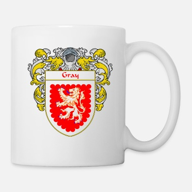Crest gray_coat_of_arms_mantled - Coffee/Tea Mug