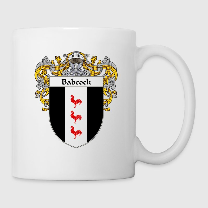 Babcock Coat of Arms/Family Crest - Coffee/Tea Mug