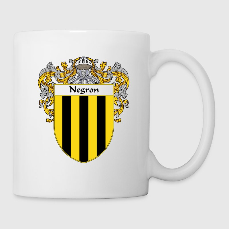 negron_coat_of_arms_mantled - Coffee/Tea Mug
