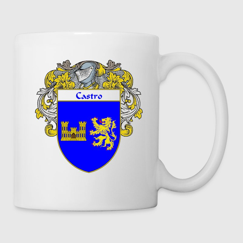 castro_coat_of_arms_mantled - Coffee/Tea Mug