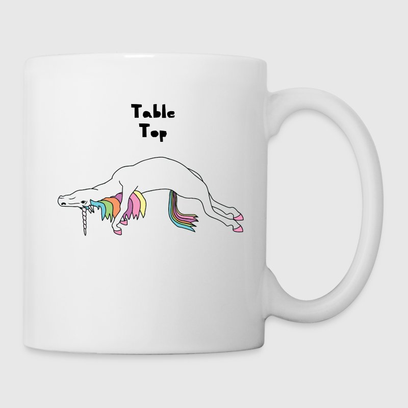 Yoga Unicorn Table Top Pose - Coffee/Tea Mug