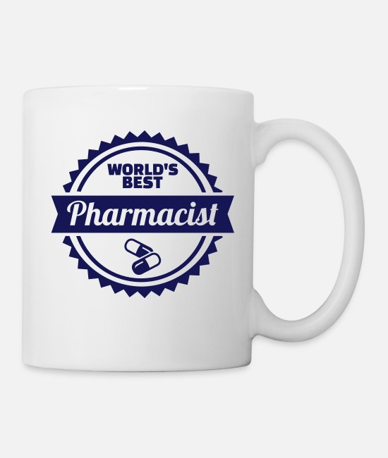 Drugs Mugs & Cups - Pharmacist - Mug white