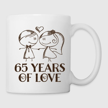 65th Wedding Anniversary Gift - Coffee/Tea Mug