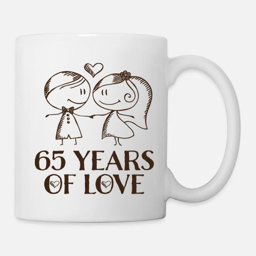 65th Wedding Anniversary Gift Mug Spreadshirt