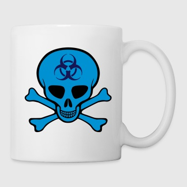 Biohazard Skull - Coffee/Tea Mug