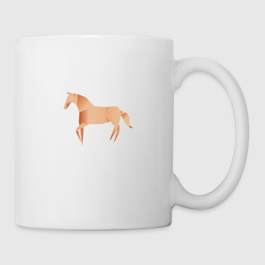 Origami Horse - Coffee/Tea Mug