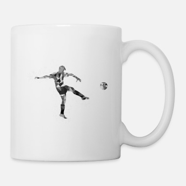Kicker Football Player - Coffee/Tea Mug