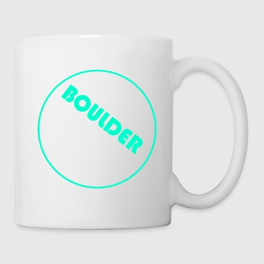 Rock Climbing Boulder Boulderer climb climbing mountain - Coffee/Tea Mug