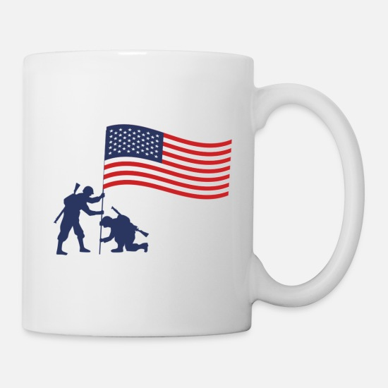 Special Forces Mugs & Drinkware - US Army - Mug white