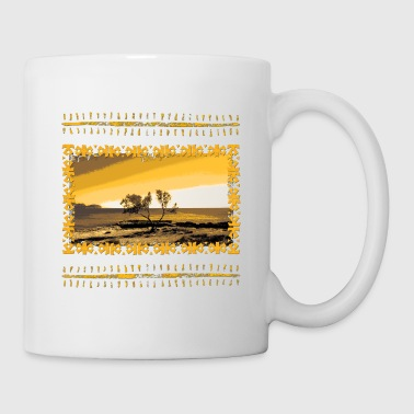 Ibiza island tree - Coffee/Tea Mug