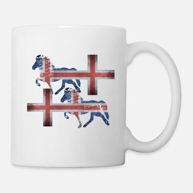 Viking Icelandic Horse: Pony Merch - Coffee/Tea Mug