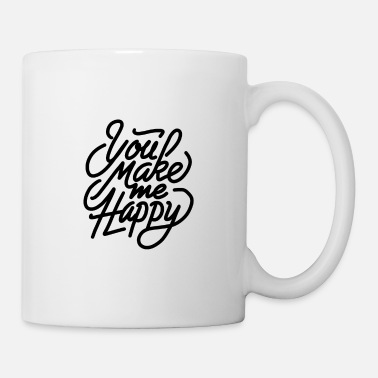 Rain you make me happy a lot 01 - Coffee/Tea Mug