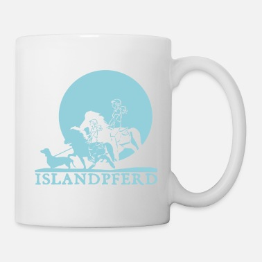 Island Icelandic Horse: Pony Merch - Coffee/Tea Mug