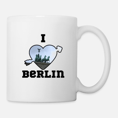 I Love Berlin heart I love Berlin Berlin nightlife capital Love - Coffee/Tea Mug