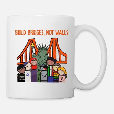 Build Bridges Not Walls Build bridges not walls shirt - Mug