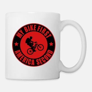 Cycling MY BIKE FIRST! - Coffee/Tea Mug
