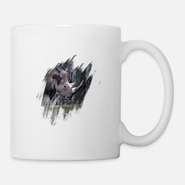 Black Rhinoceros Black Rhinoceros - Mug
