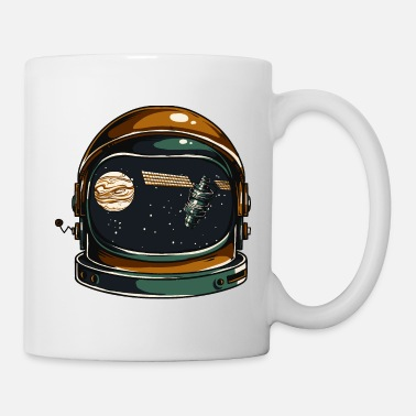 Space Helmet Space Helmet - Mug