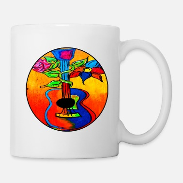 Painting Spanish Guitar painting - Mug