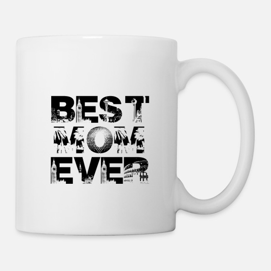 Gift Idea Mugs & Drinkware - BEST MOM EVER MUTTI MAMA MOMMY GIFT IDEA - Mug white