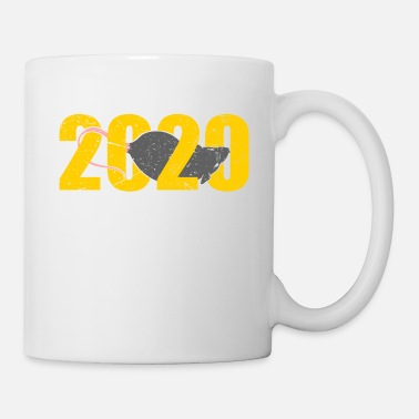 January 2020 Mouse Year Of The Rat Happy New Year 2020 - Mug