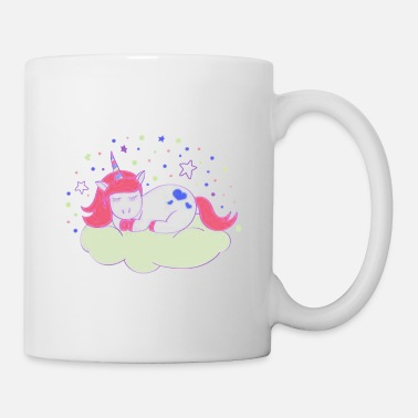 Starfleet Unicorns Are Sleeping With A Flashing Star - Mug