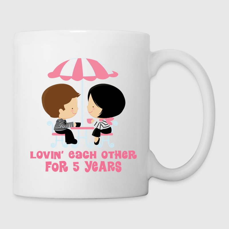 5th Anniversary French Couple - Coffee/Tea Mug