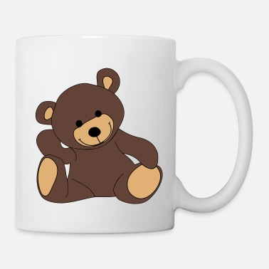 Stuffed Animal Teddy, Teddy Bear, stuffed animal - Coffee/Tea Mug