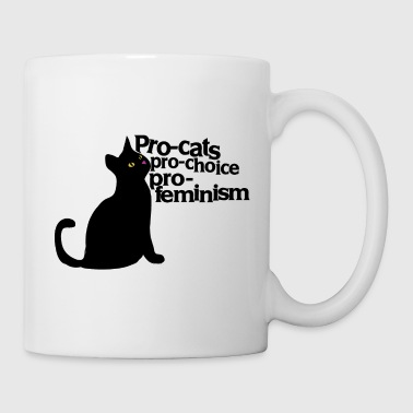 Pro Cats Pro Feminism - Coffee/Tea Mug