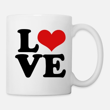 Valentine's Day love heart for valentines day - Mug