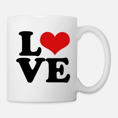 Valentine's Day love heart for valentines day - Coffee/Tea Mug
