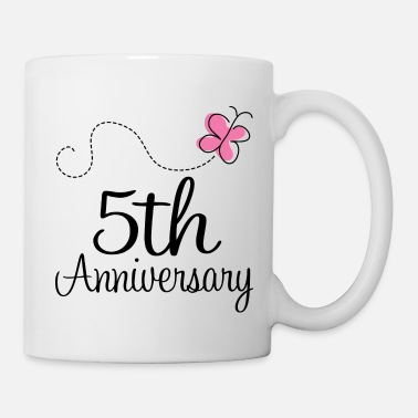 Wedding Party 5th Wedding Anniversary Party - Coffee/Tea Mug
