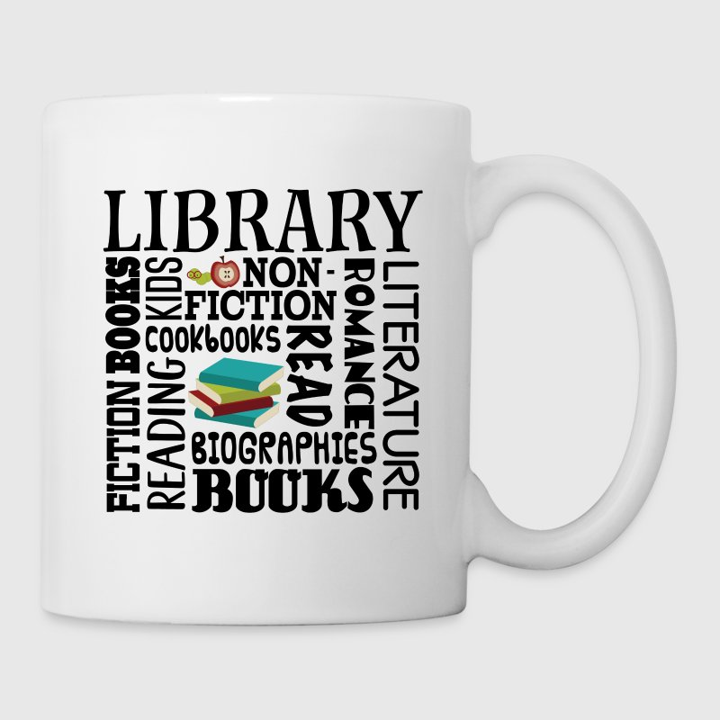 Librarian Gift Library Reading Quote - Coffee/Tea Mug