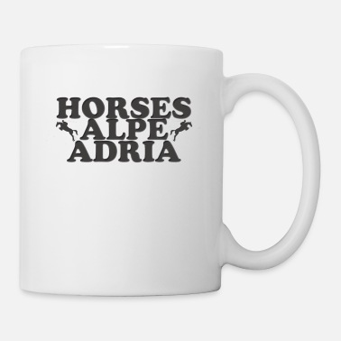 Alps Horses Alpe Adria - Coffee/Tea Mug