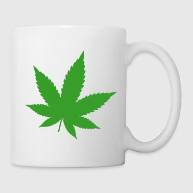 Hemp Leaf - Coffee/Tea Mug
