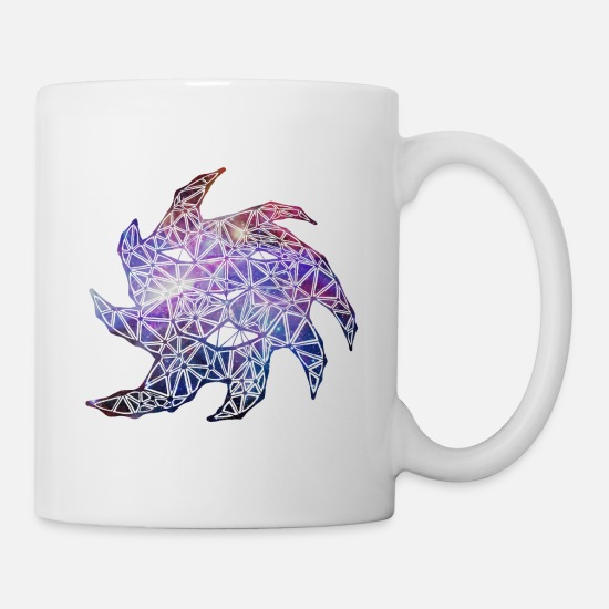 Space Mugs & Drinkware - Lion Constellation - Mug white