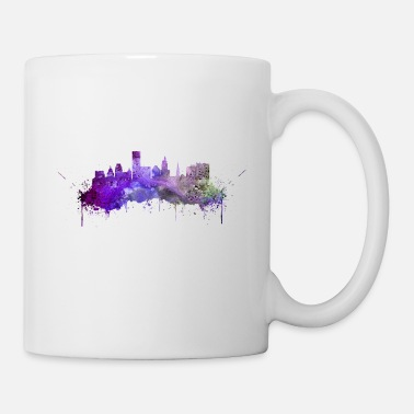 City Providence skyline - Coffee/Tea Mug