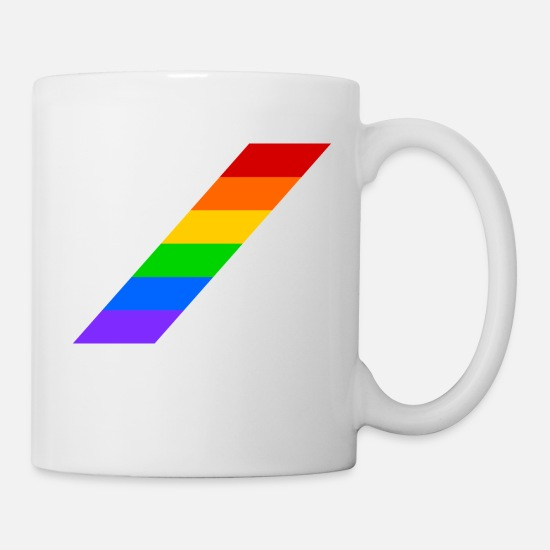 Rainbow Mugs & Drinkware - rainbow - Mug white