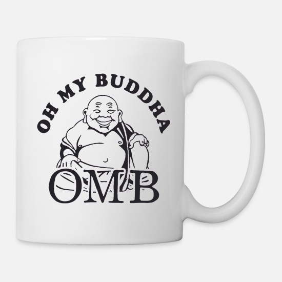 45fc24f27a Oh My Buddha T Shirt Funny Yoga T Shirt Saying Vin Mug | Spreadshirt