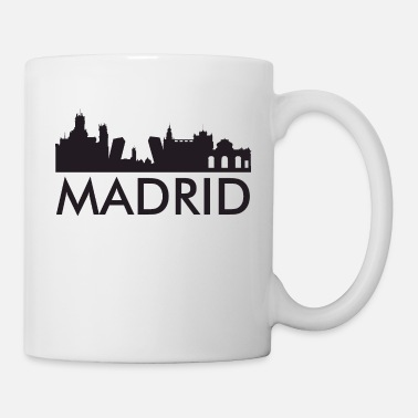 Madrid Madrid city skyline - Mug